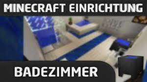 minecraft einrichtung badezimmer