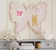 butterfly shaped pinboard pottery barn