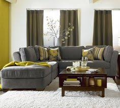brilliant grey sectional living room on home interior design