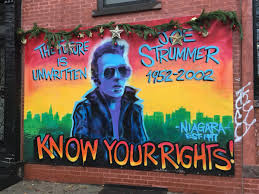 Joe Strummer Mural London Address by Joestrummer Twitter Search