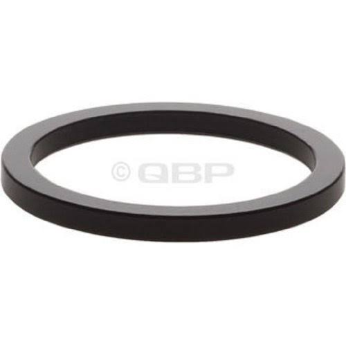 "Wheels Manufacturing 2.5mm 1"" Headset Spacer Black Bag/5"