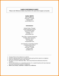 Professional References On Resume New 34 Format For Templates Of