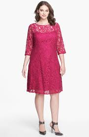 adrianna papell lace fit u0026 flare dress plus size nordstrom