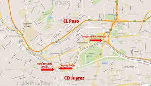 100 Where Is Chihuahua Located El Paso Texas Ciudad Juaez Border Crossing