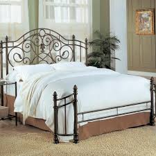 Wrought Iron Cal King Headboard by Black Iron Headboard King Home Design Ideas