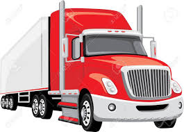 Red Semi Truck Royalty Free Cliparts, Vectors, And Stock ...