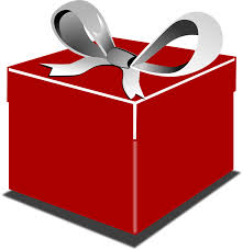 Gift clipart wrapped present 1