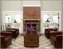 Living Room Design Painting Brick Fireplaces Red Living Room
