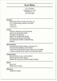 College Student Modern Resume