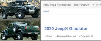 Gladiator Shows Up On FCA Media Website As Name Of New Jeep Pickup ... Jeep Wrangler Pickup Hitting Showrooms In April 2019 The Wranglerbased Truck Will Probably Look Like This 2018 New Spied Send The Mules 20 Scrambler Render Looks Ready For Real World Gladiator Aka Everything We Know Cars Jl Forums With Ram Truck Platform Could Underpin New Pickup Reveal Debuts At La Auto Show Will Be Named Not Upcoming Finally Has A Name Autoguidecom News Is Glorious