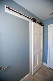 Bedroom : Unusual Sliding Bathroom Door Barn Door For Bathroom How ... Diy Barn Door Track Find It Make Love Epbot Your Own Sliding For Cheap Best 25 Diy Barn Door Ideas On Pinterest Doors Rolling Interior Doors The Wooden Houses Remodelaholic 35 Hdware Ideas Double Bypass Sliding System A Fail Domestic Bedroom Contemporary Home Depot How To Build 16 Autoauctionsinfo