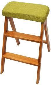 XMUEI Kitchen Folding Stool Solid Wood Creative Ladder Stool ... Indoor Chairs Folding Step Stool Chair Wooden Senarai Harga Hgf Ss 001ao Vtg Antique Wood Library And 50 Similar Items Diy Diy Cpbndkellarteam Cosco Rockford Series 2step Mahogany Ladder 225 Lb Load Capacity Type Ii Duty Rating Tideng Solid Wood 2 Household White Stair Thing Home Design Ideas Xtend Climb Ultra Light Weight Alinum With Handle