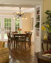 Traditional Dining Room Kitchen Pass Through Design Pictures
