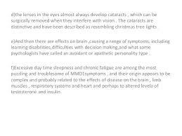 Christmas Tree Cataract Myotonic Dystrophy by Myotonic Dystrophy