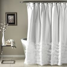 Small Bathroom Window Curtains Amazon by Amazon Com Lush Decor Avery Shower Curtain 72 By 72 Inch White