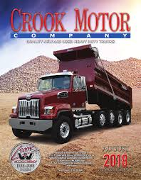 Crook Motors August 2018 Rev.indd Used 2012 Kenworth T800 For Sale 2172 Truck For Sale Quad Axle Dump Wisconsin New 2019 East 22 Frameless Dump End Trailer 2000 Eaton Ds404 Rear Housing A Western Star Trucks 4900ex 2006 Peterbilt 379 1565 Heavy Duty Specials Trucks And More Used Dumps Agcrewall In Connecticut 2011 Intertional Prostar Quad Axle Steel Truck