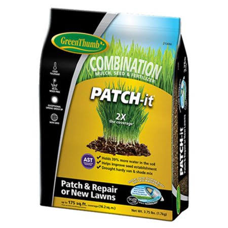 DLF Greun100 Patch-it Seed, Mulch & Fertilizer Combination - 3.75lbs