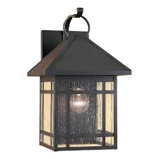 shop sea gull lighting largo 16 75 in h antique bronze outdoor