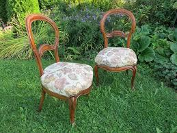 gepolsterte stühle stilmöbel esszimmerstühle antik