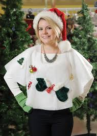 The I Couldnt Find A Sweater Ugly Enough So Just Put This Christmas Tree Skirt Over My Head