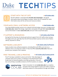 start with the oit site your netid email