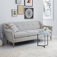 West Elm Paidge Sofa Grand by Crosby Set 3 Left Arm Loveseat Right Arm Chaise Worn Velvet