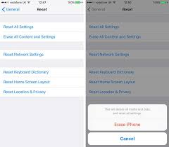 How to factory reset an iPhone or iPad Macworld UK