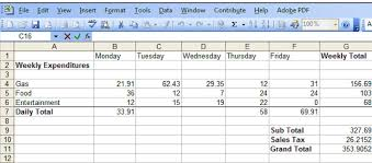 Ceiling Function Roundup Excel by Excel 2003 How To Create Formulas And Make Calculations