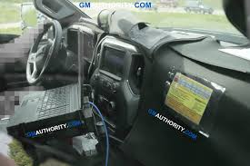 2020 Silverado HD Interior Cabin Spy Photos | GM Authority 2019 Chevy Silverado 1500 Interior Radio Cargo App Specs Tour 20 Hd Cabin Spy Photos Gm Authority 2018 New Chevrolet 4wd Double Cab Standard Box Lt At Chevygmc Center Console Tape Deck Removal Youtube The Top 4 Things Needs To Fix For Speed 3500hd Reviews 1962 Panel Truck Remains On The Job Console Subs Lowrider Diy Projects Pinterest Safe 2014 Up Gmc Sierra Also 2015 42017 Front 2040 Split Bench Seat With Crew Short Rocky