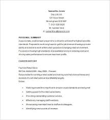Retail Job Description For Resume From Examples Best Assistant Store Manager