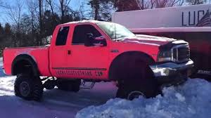 100 Pink Camo Trucks Ford F250 In The Snow YouTube