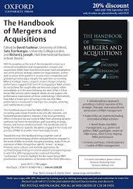 Oxford University Press Uk Exam Copy by The Handbook Of Mergers And Acquisitions Pdf Download Available