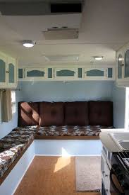 Luxury DIY Glam RV Remodel With Tufted Wall Updated Our 25 Year Old From