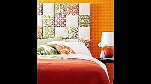 schlafzimmer mit kreativen kopfbrett ideen zum selbermachen gestalten