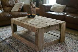 How To Make A Small Coffee Table Wood Pallet