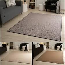 details zu steffensmeier kurzflor teppich great yarmouth wohnzimmer grau beige braun