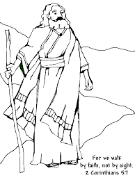 Abraham Bible Story Coloring Pages