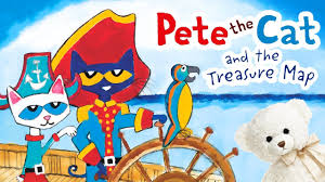 pete the cat books pete the cat and the treasure map by dean book read aloud