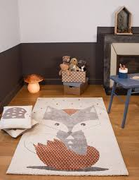 tapis de chambre bébé tapis chambre de bébé renard