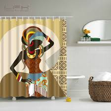Fabric For Curtains South Africa by Buy Africa Shower Curtain And Get Free Shipping On Aliexpress Com
