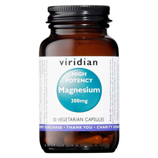 Viridian High Potency Magnesium 300mg (30 caps)