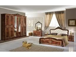 schlichter schlafzimmer set lazise 6 teilig walnuss beige