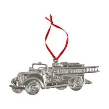 MAST GENERAL STORE | Pewter Ornament - Fire Truck | Mast General Store Amazoncom Hallmark Keepsake 2017 Fire Brigade 1979 Ford F700 Personalized Truck On Badge Ornament Occupations Lightup Led Engine Free Customization Youtube 237 Best Christmas Tree Ideas Images On Pinterest Merry Fireman Hat Ornament Refighter Truck Aquarium Decoration 94x35x43 Kids Dumptruck 1929 Chevrolet Collectors 2014 1971 Gmc Home Old World Glass Blown