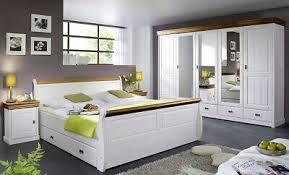 landhaus schlafzimmer set komplett westerland bett 140x200cm