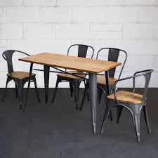 Tolix Style Dining Set Rectangular Table & Chairs Metal Graphite ... Korean Style Ding Table Wood Restaurant Tables And Chairs Buy Small Definition Big Lots Ashley Yelp Sets Glamorous Chef 30rd Aged Black Metal Set Ch51090th418cafebqgg 61 Tolix Rectangular Onyx Matt Chair Fniture Side View Stock Vector The Warner Bar In 2019 Fniture Interior Indoors In Vintage Editorial Photography Image Town Quick Restaurant Table Chairs Bar Cafe Snack Window Blurred Bokeh Photo Edit Now