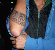 Adding Color To Even A Tribal Armband Tattoo Can Also Help Create More Unique For Woman Than Man
