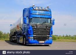 TURKU, FINLAND - JULY 13, 2014: Blue Scania V8 Tank Truck For Dry ... Ngulu Bulk Carriers Home Transportbulk Cartage Winstone Aggregates Stephenson Transport Limited Typical Clean Shiny American Kenworth Truck Bulk Liquid Freight Cemex Logistics Cement Powder Transport Via Articulated Salo Finland July 23 2017 Purple Scania R500 Tank For Dry Trucking Underwood Weld Food January 5 White R580 March 4 Blue Large Green Truck Separate Trailer Transportation Stock Drive Products Equipment