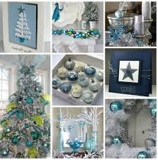 Cubicle Decoration Ideas For Christmas by American Home Interior Blue Christmas Decor Christmas Cube