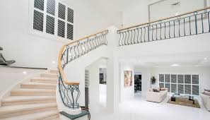 treppenhaus wohnidee großes helles treppenhaus einer villa