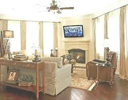 corner fireplace decorating ideas living room designs with